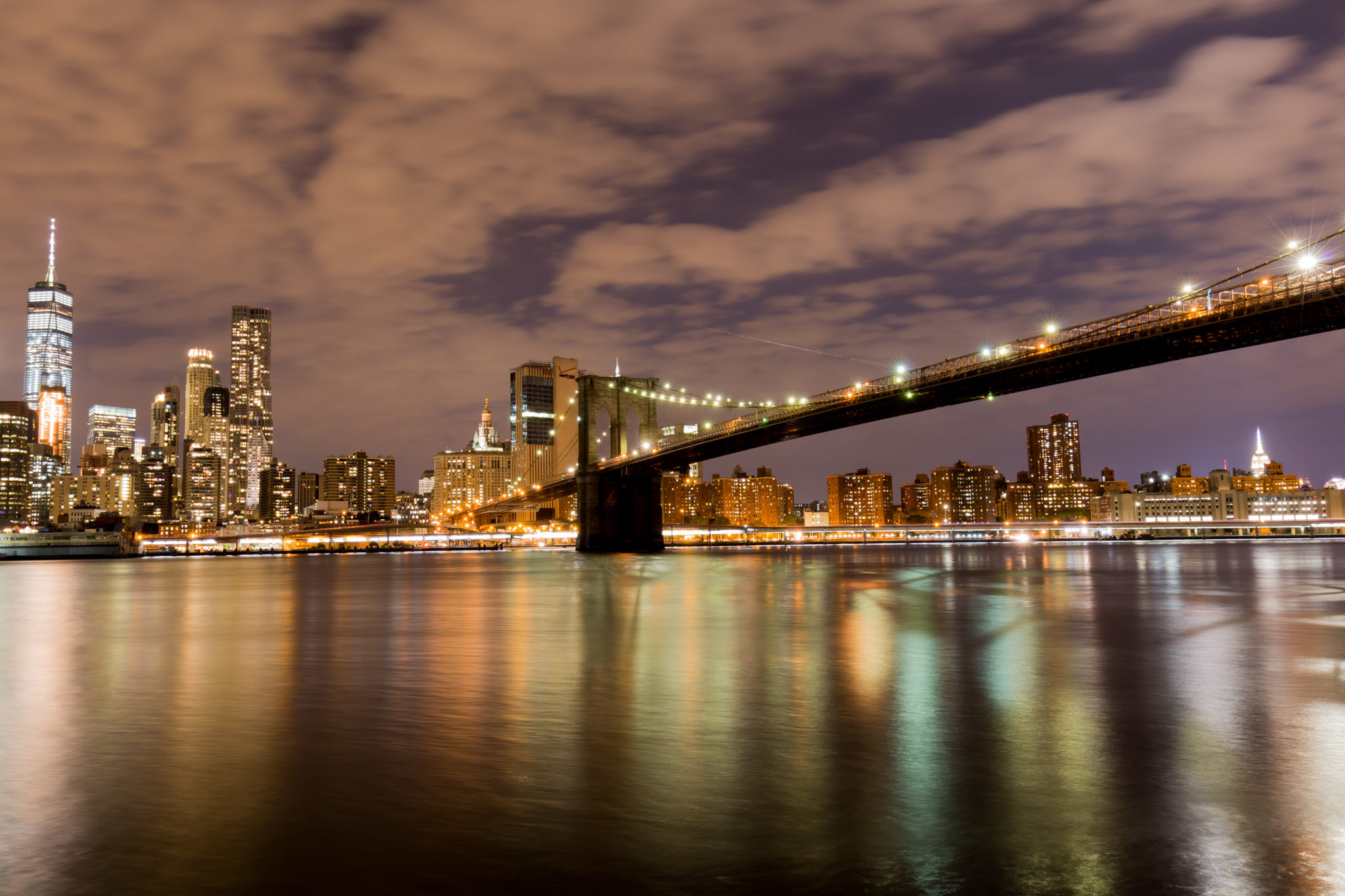 New York - Manhattan Bridge - View from Dumbo