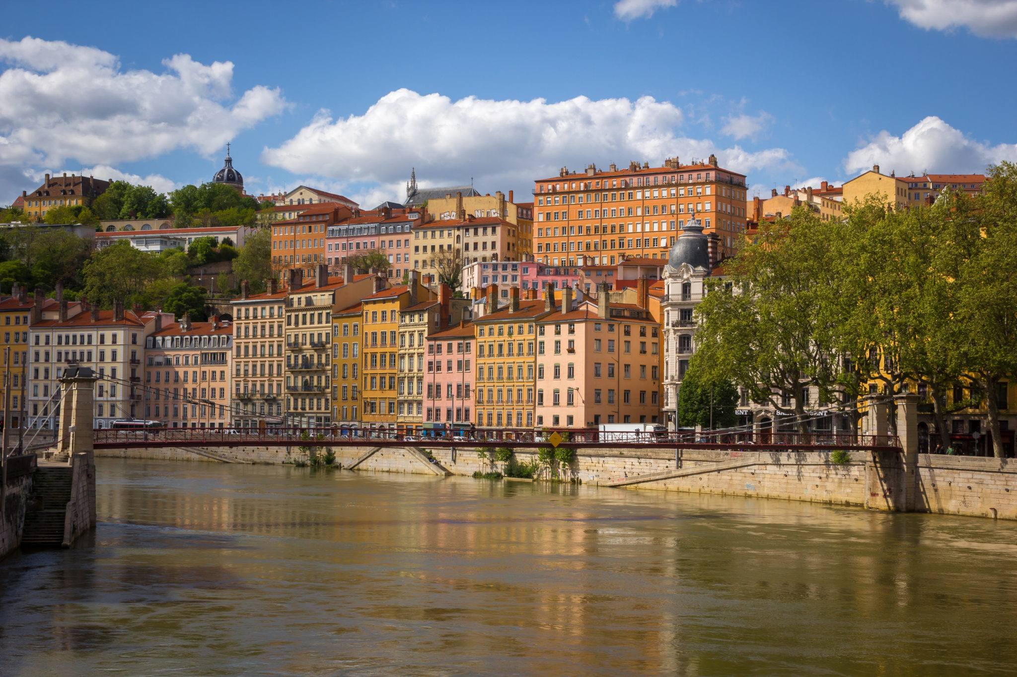 Photo of Lyon Downtown in the South of France